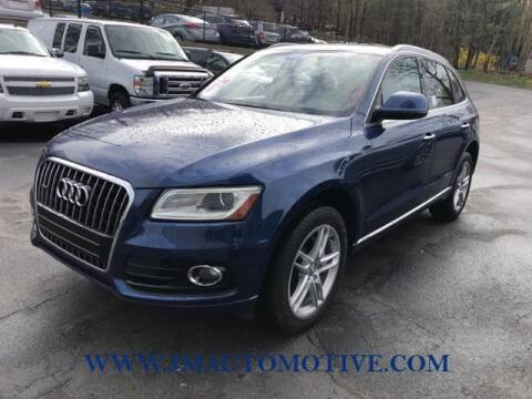 2016 Audi Q5 for sale at J & M Automotive in Naugatuck CT