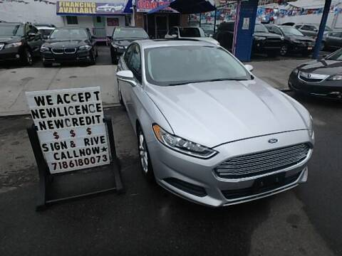 2015 Ford Fusion for sale at Cedano Auto Mall Inc in Bronx NY