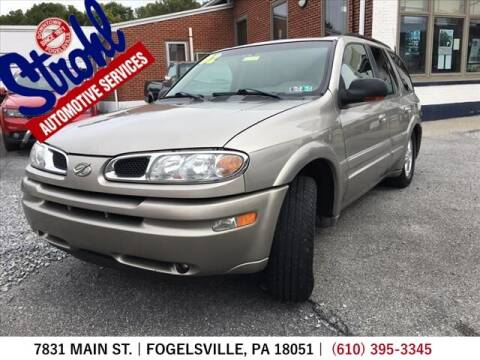 2002 Oldsmobile Bravada for sale at Strohl Automotive Services in Fogelsville PA