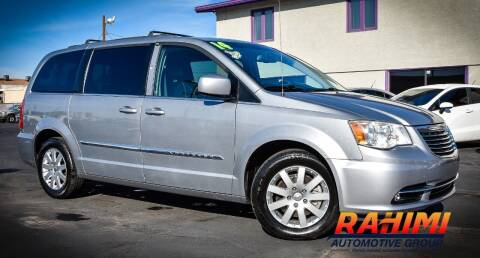 2014 Chrysler Town and Country for sale at Rahimi Automotive Group in Yuma AZ