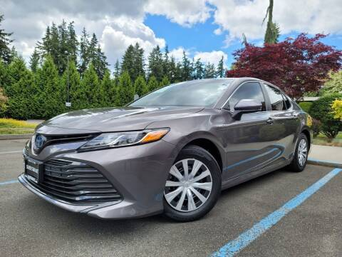 2018 Toyota Camry Hybrid for sale at Silver Star Auto in Lynnwood WA