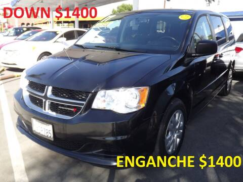 2017 Dodge Grand Caravan for sale at PACIFICO AUTO SALES in Santa Ana CA