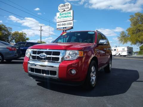 2011 Ford Escape for sale at BAYSIDE AUTOMALL in Lakeland FL