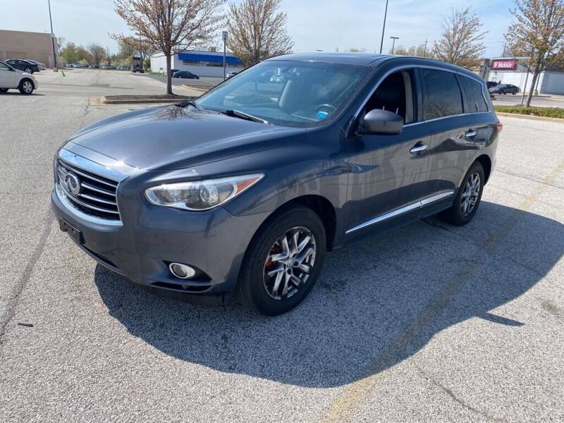 2013 Infiniti JX35 for sale at TKP Auto Sales in Eastlake OH