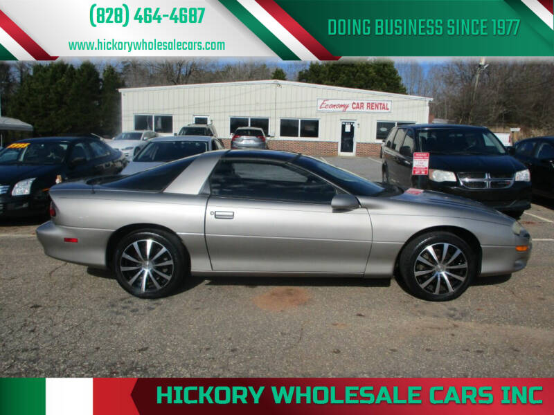 2001 Chevrolet Camaro for sale at Hickory Wholesale Cars Inc in Newton NC