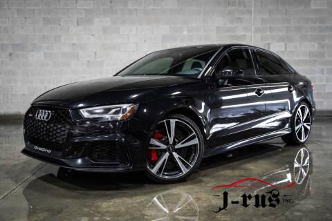 2018 Audi RS 3 for sale at J-Rus Inc. in Macomb MI