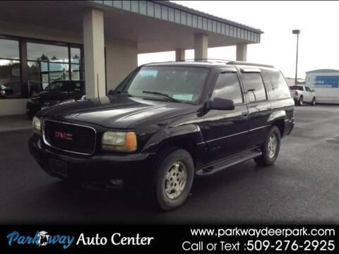 1999 GMC Yukon for sale at PARKWAY AUTO CENTER AND RV in Deer Park WA