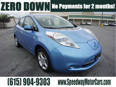 2012 Nissan LEAF for sale at Speedway Motors in Murfreesboro TN