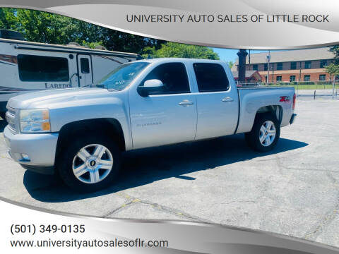 2011 Chevrolet Silverado 1500 for sale at University Auto Sales of Little Rock in Little Rock AR
