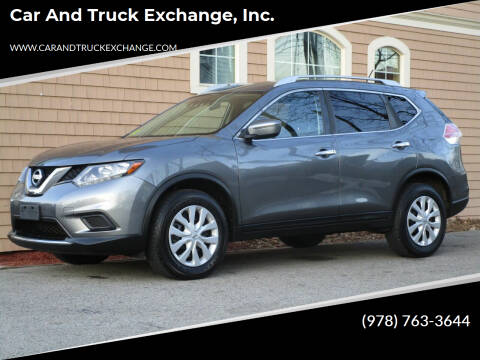 2016 Nissan Rogue for sale at Car and Truck Exchange, Inc. in Rowley MA
