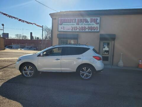 2010 Nissan Murano for sale at SELLECT AUTO INC in Philadelphia PA