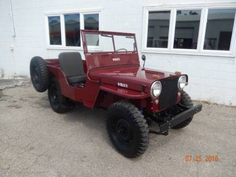 1946 Willys CJ-2A for sale at Classic Car Deals in Cadillac MI