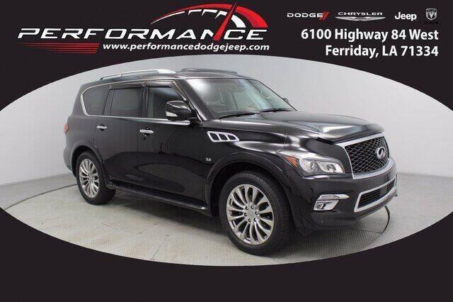 2017 Infiniti QX80 for sale at Performance Dodge Chrysler Jeep in Ferriday LA