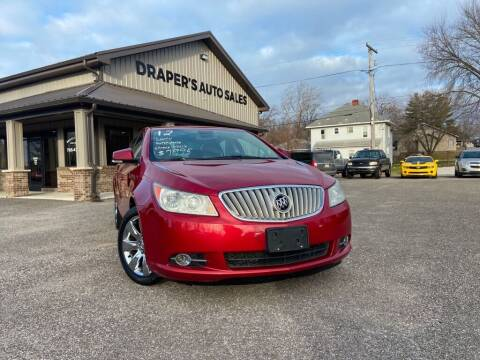 2012 Buick LaCrosse for sale at Drapers Auto Sales in Peru IN