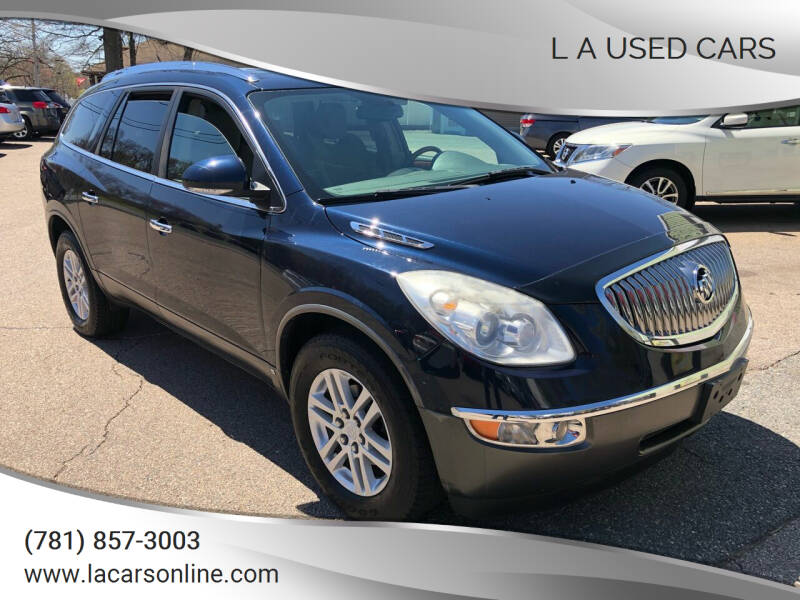 2008 Buick Enclave for sale at L A Used Cars in Abington MA