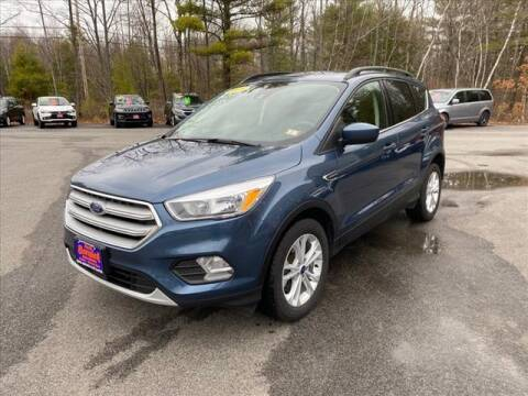 2018 Ford Escape for sale at North Berwick Auto Center in Berwick ME