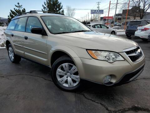 2008 Subaru Outback for sale at Dan Paroby Auto Sales in Scranton PA
