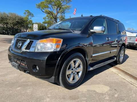 2013 Nissan Armada for sale at Newsed Auto in Houston TX