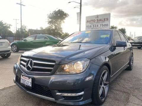 2014 Mercedes-Benz C-Class for sale at A1 Auto Sales in Sacramento CA