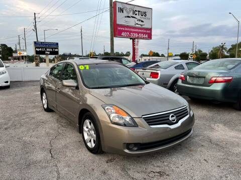 2007 Nissan Altima for sale at Invictus Automotive in Longwood FL