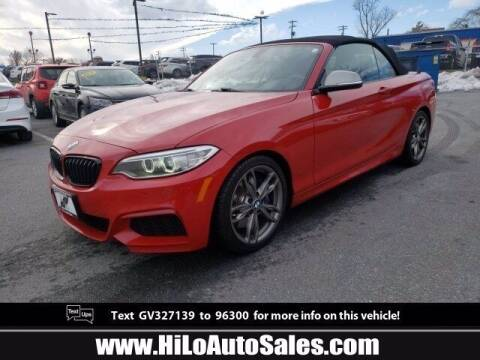 2016 BMW 2 Series for sale at Hi-Lo Auto Sales in Frederick MD