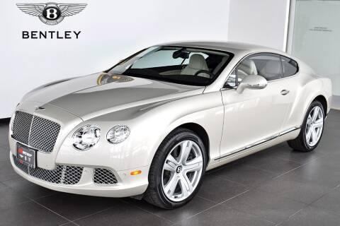 2012 Bentley Continental for sale at Bespoke Motor Group in Jericho NY