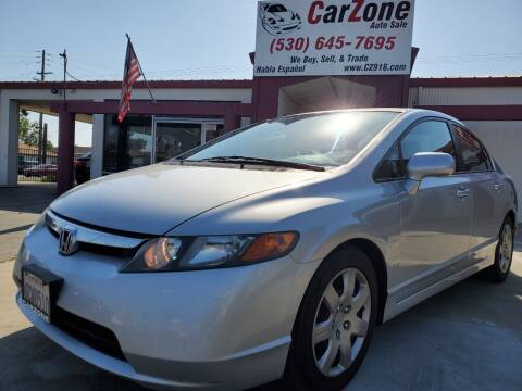 2008 Honda Civic for sale at CarZone in Marysville CA