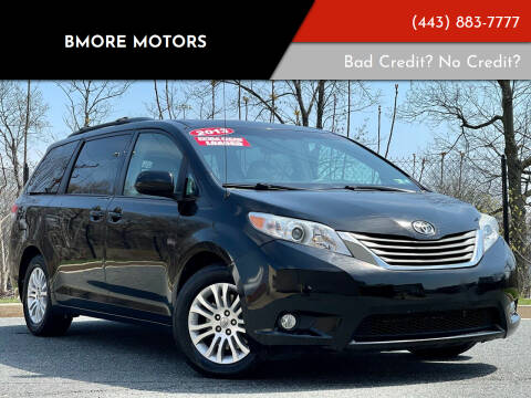2013 Toyota Sienna for sale at Bmore Motors in Baltimore MD