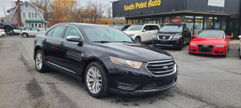 2019 Ford Taurus for sale at South Point Auto Plaza, Inc. in Albany NY