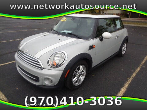 2013 MINI Hardtop for sale at Network Auto Source in Loveland CO
