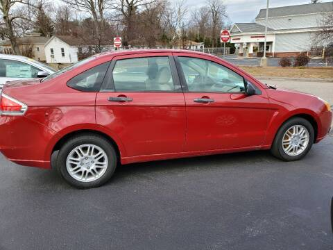 2011 Ford Focus for sale at R C Motors in Lunenburg MA