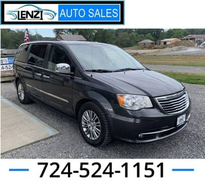 2016 Chrysler Town and Country for sale at LENZI AUTO SALES in Sarver PA