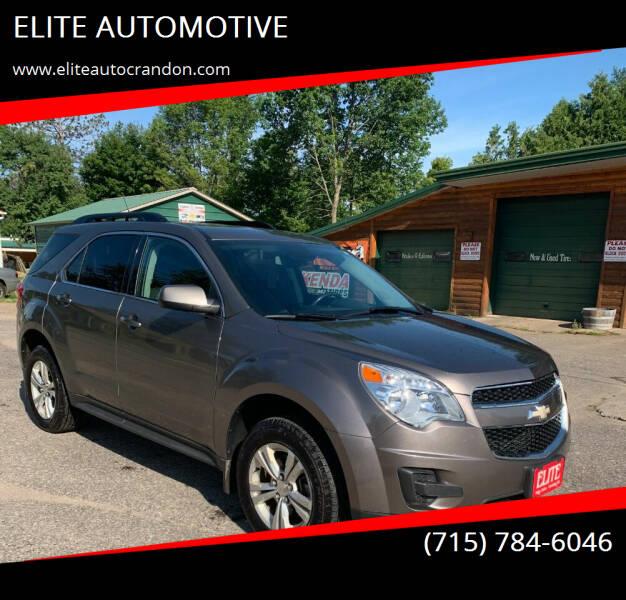 2012 Chevrolet Equinox for sale at ELITE AUTOMOTIVE in Crandon WI
