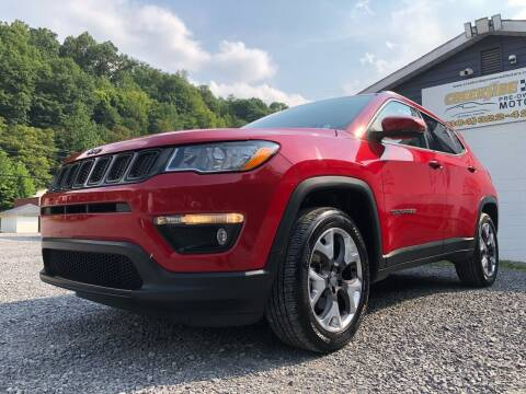 2017 Jeep Compass for sale at Creekside PreOwned Motors LLC in Morgantown WV
