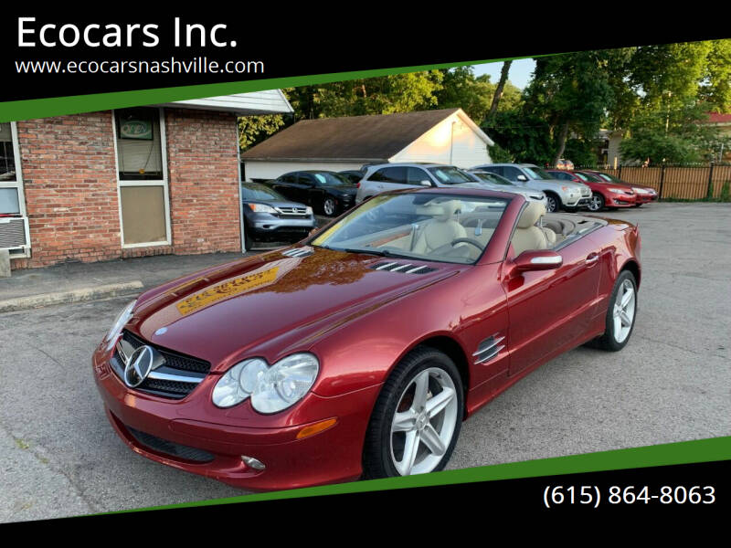 2005 Mercedes-Benz SL-Class for sale at Ecocars Inc. in Nashville TN