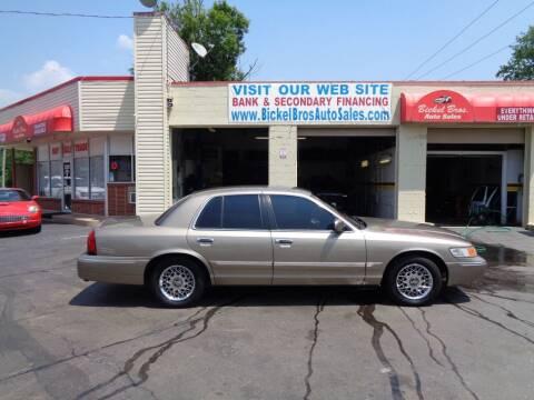 2002 Mercury Grand Marquis for sale at Bickel Bros Auto Sales, Inc in Louisville KY