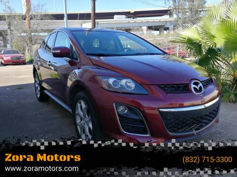 2010 Mazda CX-7 for sale at Zora Motors in Houston TX