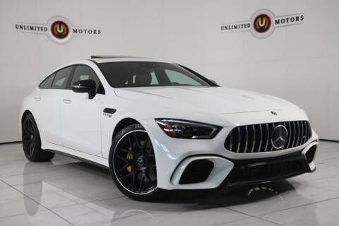 2019 Mercedes-Benz AMG GT for sale at INDY'S UNLIMITED MOTORS - UNLIMITED MOTORS in Westfield IN