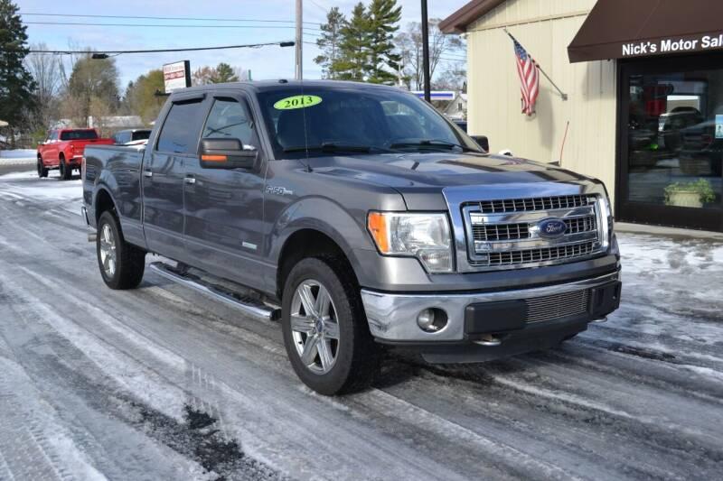 2013 Ford F-150 for sale at Nick's Motor Sales LLC in Kalkaska MI