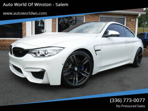2016 BMW M4 for sale at Auto World Of Winston - Salem in Winston Salem NC