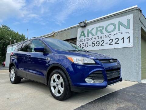 2016 Ford Escape for sale at Akron Motorcars Inc. in Akron OH
