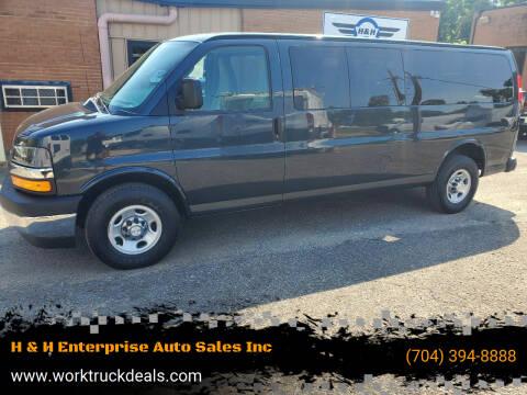 2018 Chevrolet Express Passenger for sale at H & H Enterprise Auto Sales Inc in Charlotte NC