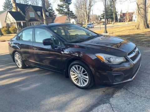 2012 Subaru Impreza for sale at Via Roma Auto Sales in Columbus OH