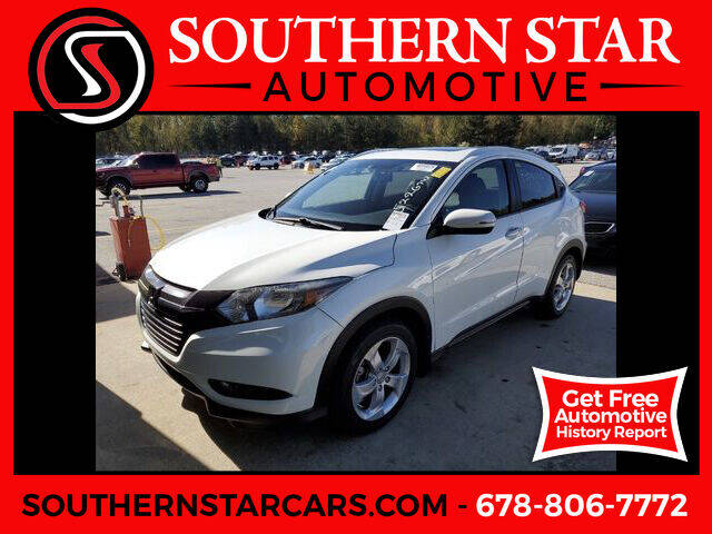 2016 Honda HR-V for sale at Southern Star Automotive, Inc. in Duluth GA