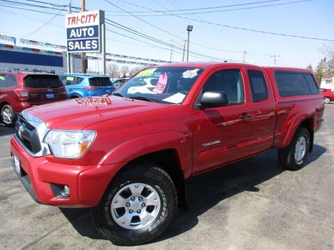 2012 Toyota Tacoma for sale at TRI CITY AUTO SALES LLC in Menasha WI
