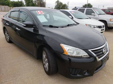 2015 Nissan Sentra for sale at Pioneer Auto in Ponca City OK