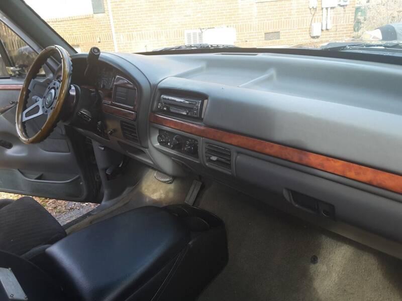 1992 Ford F-150 2dr XL Standard Cab Stepside SB - Troutman NC