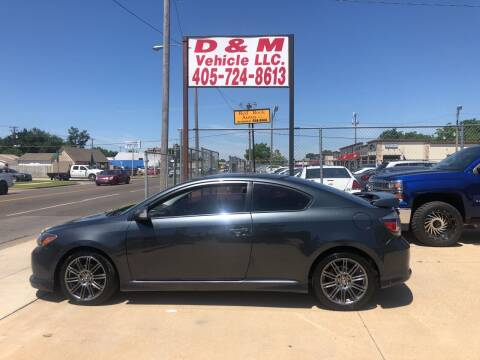 2009 Scion tC for sale at D & M Vehicle LLC in Oklahoma City OK