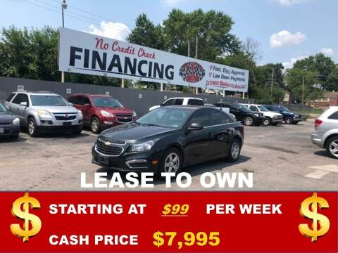 2016 Chevrolet Cruze for sale at Auto Mart USA in Kansas City MO