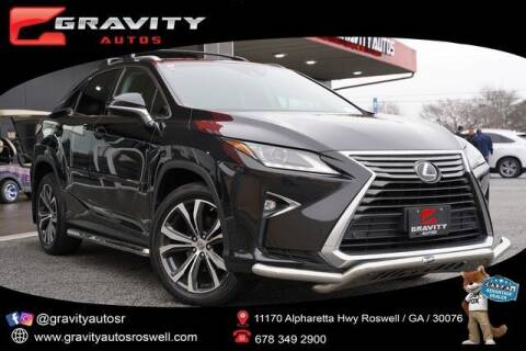 2017 Lexus RX 350 for sale at Gravity Autos Roswell in Roswell GA